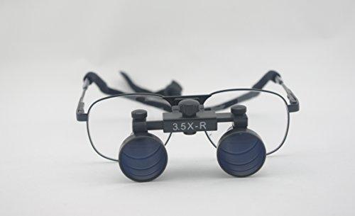 Spark Dentist Dental Magnifier Glasses Medical Optical Loupes 3.5 X Magnification Cm350