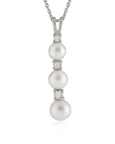 Bella Pearls Collar plata de ley 925 milésimas