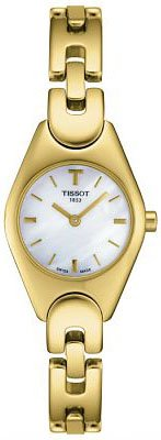 TISSOT Watch:Tissot Women's T05.5.255.81 T-Trend Cocktail Yellow Gold Tone Dial Watch Images