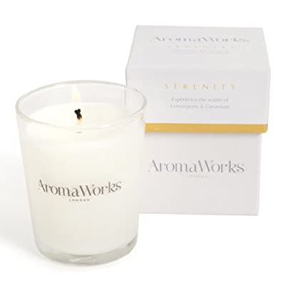 AromaWorks Candle Serenity 10 cl from AromaWorks Ltd, uk beauty, AROP4