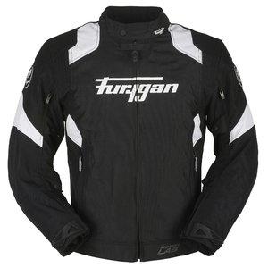 6228-102 - Furygan Genesis Full Textile Motorcycle Jacket M Black/Red/White (40)