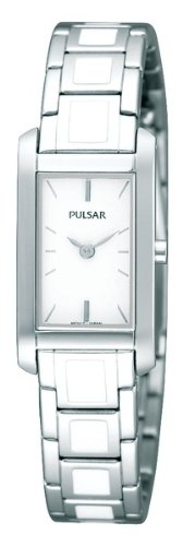 Pulsar Fashion Steel and Enamel Women's watch #PEGF67