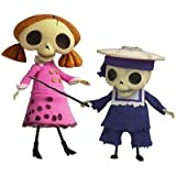 Tim Burton's - Corpse bride - Skelleton Girl & Smallest Skeleton Child - Jun Planning