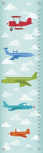 "Oopsy Daisy Growth Chart, Airborne, 12"" x 42"""