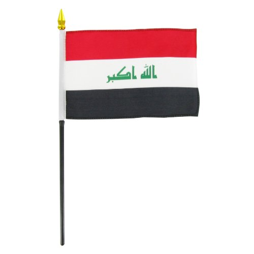 Sale alerts for Online Stores, Inc. Iraq Flag 4 x 6 inch - Covvet