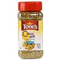 Tones citrus grill seasoning oz for Grilled fish seasoning