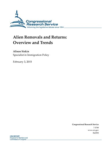 Alien Removals and Returns: Overview and Trends (CRS Reports)