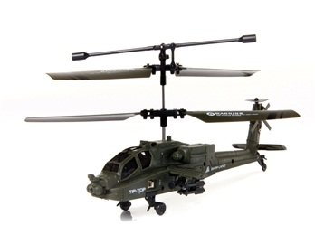 UdiR/C U803 3.5 Channel Mini RC Army Helicopter with Gyroscope
