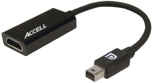 Accell B086B-008B-2 Ultraav Mini Displayport 1.1 To Hdmi 1.4 Active Adapter - Amd Eyefinity Certified (Polybag Package)
