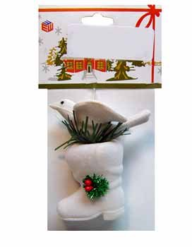 christmas felt decoration - Pack of 24