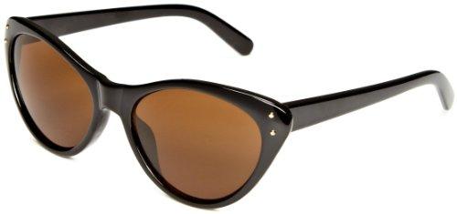 Iconeyewear Lauren Cat-Eye Women's Sunglasses Black Tort One Size