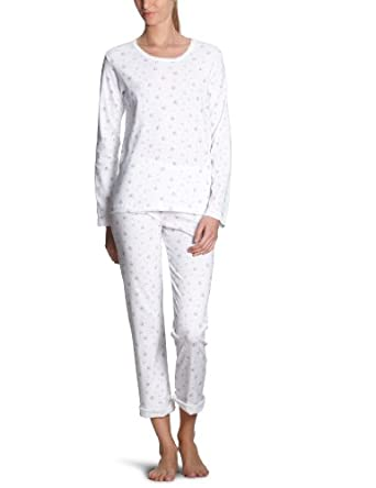 petit bateau pyjama femme blanc impression rose 12 ans xs v tements et. Black Bedroom Furniture Sets. Home Design Ideas