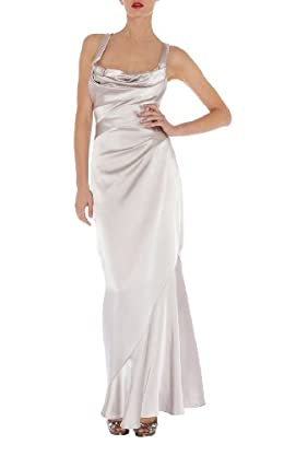 Draped Maxi Dress