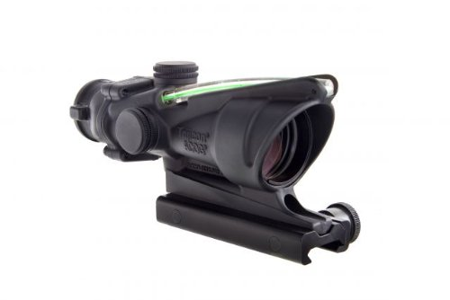 Acog Ta31H-68-G Trijicon 4X32 Scope With Dual Illuminated Green Horseshoe 6.8 Ballistic Reticle And Ta51 Mount