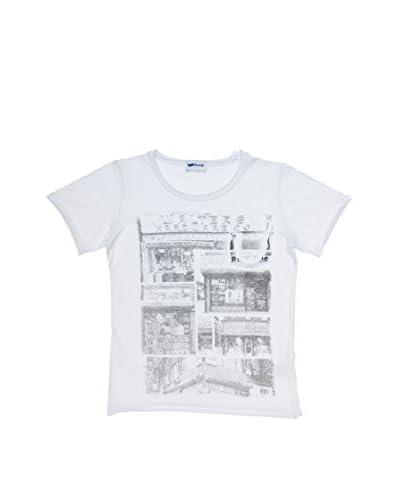 Gas Camiseta Manga Corta Blanco
