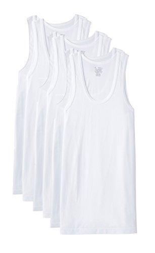 Jockey-White-Vests-Pack-of-6