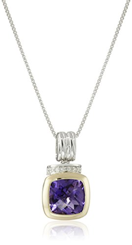 sg-sterling-silver-and-14k-yellow-gold-amethyst-diamond-drop-pendant-necklace-18