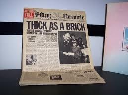 Thick as a brick ('newspaper-cover') / Vinyl record [Vinyl-LP]