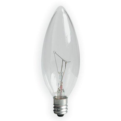 home depot appliance ge 48402 60 watt decorative blunt tip candelabra light bulb with small. Black Bedroom Furniture Sets. Home Design Ideas