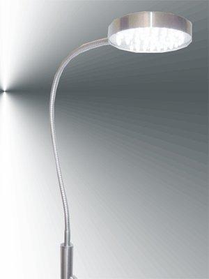 einzigartige Stromspar LED Stehlampe / Leuchte Worum mit FlexDesign Kopf 10013