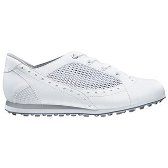 Adidas Ladies Driver Series ClimaCool Golf Shoes (White) 2013