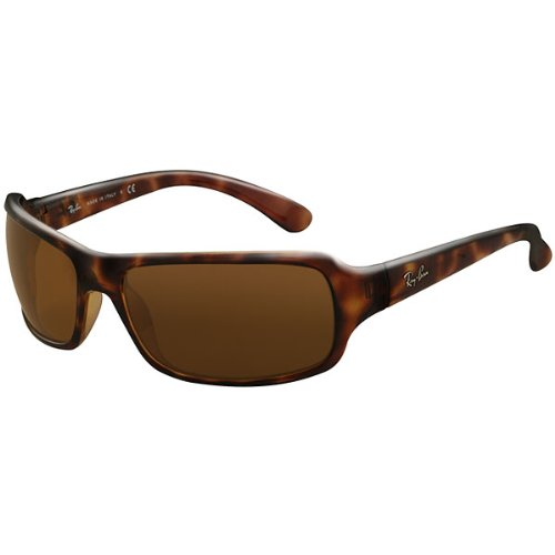 Ray-Ban RB4075 Highstreet Casual Sunglasses – Color: Tortoise/B-15 XLT, Size: 61mm