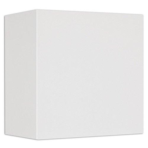 Pensile sospeso con anta soggiorno bianco frassinato Cm 60x32xH 60