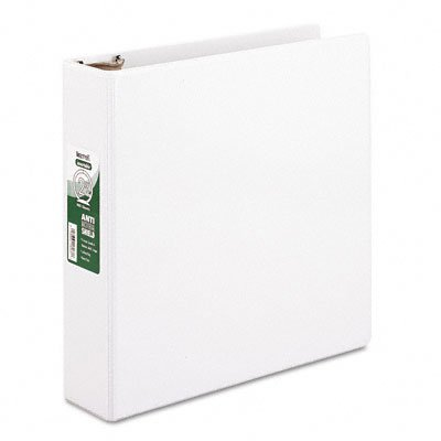 Antimicrobial locking round ring view binders, 2 capacity, white - Buy Antimicrobial locking round ring view binders, 2 capacity, white - Purchase Antimicrobial locking round ring view binders, 2 capacity, white (Samsill, Office Products, Categories, Office & School Supplies, Binders & Binding Systems, Binders, Presentation Books)