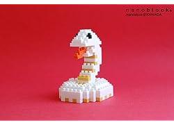 nanoblock年賀状2013用(白ヘビ)