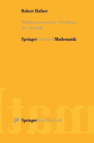 Nichtparametrische Verfahren der Statistik (German Edition)