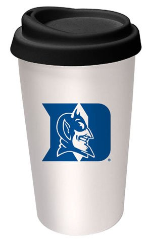 NCAA Duke Blue Devils Logo Travel Mug at Amazon.com