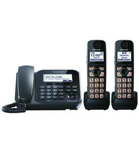Dect 6.0+ Corded/Cordless, Itad,2 Hs, Bk By Panasonic Consumer