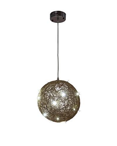 International Designs LED Nova Ceiling Light, Wheat