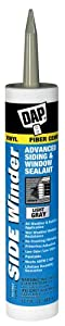 Dap 00807 Light Gray Side Winder Advance Polymer Siding and Window Seal 10.1-Ounce