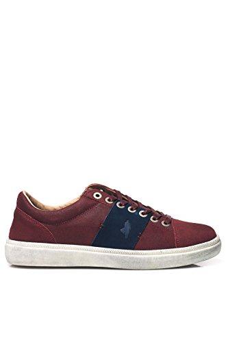 MCS - Sneakers bassa in suede e gomma da UO - Rosso 44
