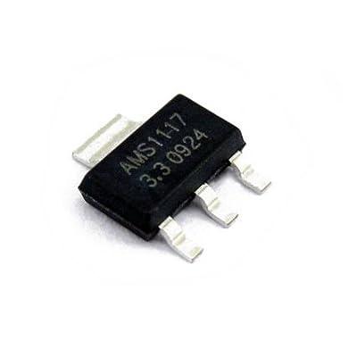 10 pcs AMS1117 3.3V 1A Voltage Regulator AMS1117-3.3V
