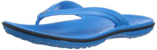 crocs Crocband flip 11033, Infradito unisex adulto, Blu (Blau (Ocean/Black 49S)), 37/38