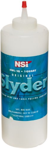 Wire-Pulling Lubricant, Slyder Standard Grade Cable Lubricant, 1 qt Squeeze Bottle (Wire Pulling Gel compare prices)