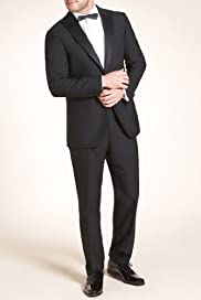 Autograph Slim Fit Wool Blend Eveningwear Jacket [T15-8185A-S]