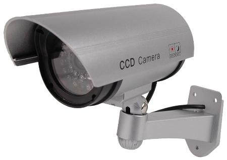 Realistic Day/Night Bullet Camera With Photocell Activated Ir Leds