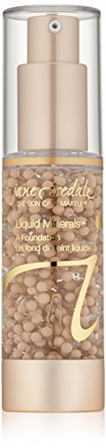 jane iredale Liquid Minerals A Foundation, Amber, 1.01 oz.