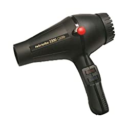 Turbo Power Twin Turbo 3200 Hair Dyer is the most powerful professional hair dryer with long life high performance and powerful motor of 1900 watts. Produces approximately 79 cubic meters air/hour airflow for faster drying. Turbo Power hair dryers ar...
