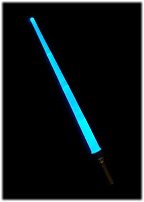 Lightsaber - Electronic Light Up Sword - Extends & Switches to 8 Different Colours - Pulsating & Steady LED Modes - Over 3 Feet In Length - Batteries Already Included
