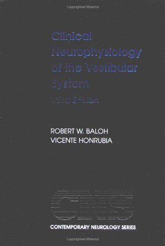 Clinical Neurophysiology Of The Vestibular System (Contemporary Neurology)