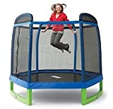 My First Indoor/Outdoor Trampoline Combo with Enclosure - 88""
