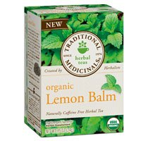 Traditional Medicinals Teas Organic Lemon Balm