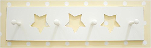 New Arrivals White Star Peg Board, Cream (Discontinued by Manufacturer)