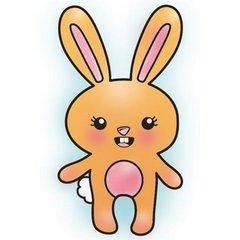Bunny Hippity Hop Snag 'Em Stamp (Imaginisce)