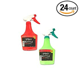 New - 24 oz. spray bottle - Case of 24 by bulk buys