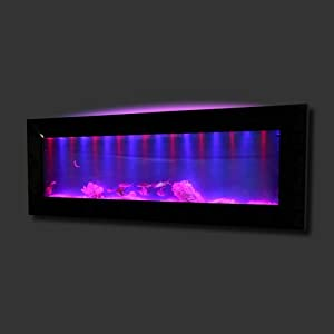 Amazon.com : Aussie Aquariums Mirrored Glass Wall Mounted Aquarium ...
